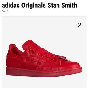 RED ADIDAS ORIGINALS